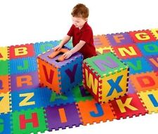 40pcs Alphabet Numbers EVA Floor play Mat Baby Room Jigsaw ABC foam Puzzle
