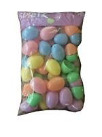 48ct Plastic Easter Fillable Eggs - Spritz  -SEALED NEW!