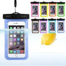 Schutzhülle wasserdicht Unterwasser Handy für iPhone 5 6 7 Samsung Galaxy S8 S7