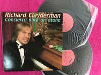 Richard Clayderman 2 X LP Vinyle Concierto Para Un Automne 2 Disques