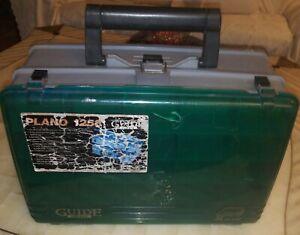 LARGE PLANO 1258 GUIDE SERIES FISHING TACKLE BOX & STOWAWAY UTILITY BOX