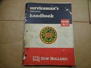 New Holland Servicemans Troubleshooting Handbook Manual Vol.1 11/65 Balers