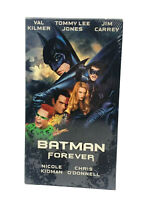 Batman Forever VHS Tape Vcr Video Movie  Tape Val Kilmer, Jim Carrey