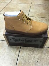 Timberland Groveton Wheat Men's Leather and Fabric Chukka A1115