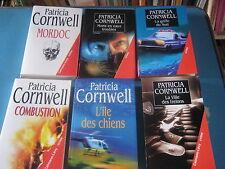 6 livres de P. Cornwell  La griffe du sud, la ville des frelons, l'ile des chien