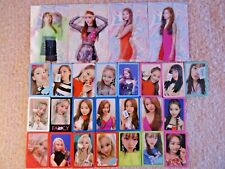Twice -  Fancy Official Photocard/Lenticular - Member Selection