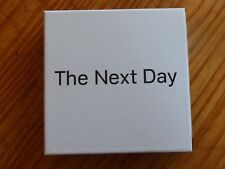 "COFFRET DAVID BOWIE ""THE NEXT DAY""  2 CD + DVD + 3 LIVRETS  ED. COLLECTOR, TBE"