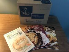 Pampered Chef Small Square Bowl Caddy #1944 Plus 4 Season's Best Cookbooks