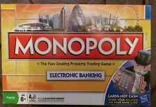 MONOPOLY : ELECTRONIC BANKING LONDON RARE EDITION - IN VGC FREE UK P&P
