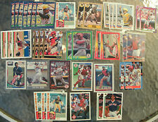 (41) Assorted Tony Pena Trading Cards 1982-94 (18 different cards)