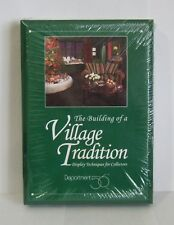 Dept 56 The Building of a Village Tradition Display Techniques Book & VHS NEW