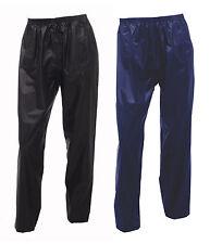 Adults Waterproof Over Trousers Mens or Ladies Womens Fishing Golf Bike Walking