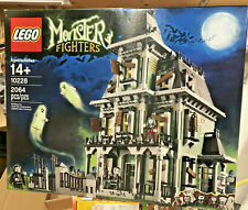 Lego 10228 Monster Fighters Haunted House - Hard to Find - New Sealed