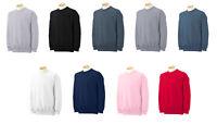 Gildan 18000 Adult Crewneck Sweatshirt Heavy Cotton Blend Fleece Mens Ladies