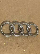 Genuine Audi A4  04 Front Grille Rings Emblem Badge 8H0853605 Cabriolet