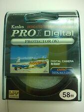 Genuine Kenko PRO1 Digital 58mm Protector Filter