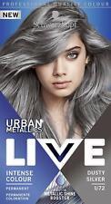 Schwarzkopf Live Intense Colour DUSTY SILVER U72 Urban Metallics