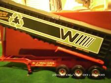 Corgi Heavy Haulage Modern Truck TIPPER TRAILER B J WATERS Only 1/50