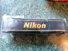 Genuino Original Nikon cuello correa de hombro D5500 D3300 D3400 D5600