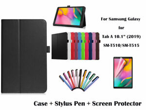 PU Leather Flip Cover Case for Samsung Galaxy Tab A 10.1 (2019) T510/T515