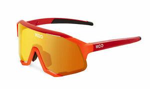 KOO Cycling Sunglasses- DEMOS-Orange Fluo/Red
