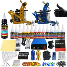 Solong Complete Tattoo 2Pro Tattoo  Machine Kit  Power Supply 14 ink TK203-37