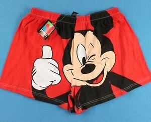 MICKEY MOUSE Vintage Boxer Shorts Men's XL 90s NOS NWT Disney Underwear Boxers