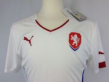 Authentic Puma Czech Republic 2014/15 Away Football Soccer Jersey Size Medium M