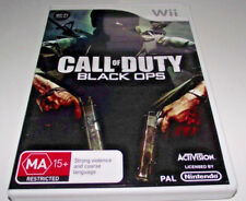 Call of Duty Black Ops Nintendo Wii PAL *Complete* Wii U Compatible