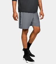 Nwt Under Armour Ua Woven Graphic Wordmark Men's Shorts – 1320203 513 Xxl/2Xl