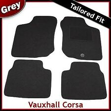 Vauxhall Corsa B 1993-2000 Tailored Carpet Car Floor Mats GREY
