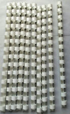 16mm White Binding Combs 14 Ring For Comb Binder A5 10x