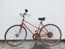 Vintage Peugeot Bicycle! Orange Rare! Made In France! MAFAC RACER!