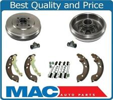 Rear Drums Brake Shoes Springs Wheel Cylinders for Nissan Versa 12-15 Note 12-17