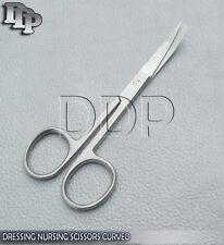 """Dressing Nursing Surgical Scissors 4.5"""" Sharp / Blunt Curved OS-002"""