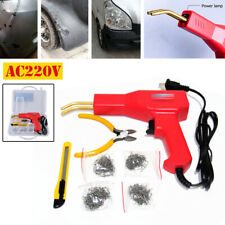 220V Car Fairing Welder Gun Plastic Bumper Welding Fender Hot Stapler Repair Kit