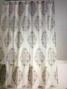 pottery barn Asher shower curtain #1345