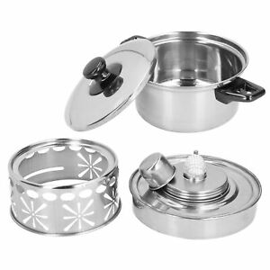 Firm Stainless Steel Hot Pot Stove Easy To Clean Stainless Steel Hot Pot Outdoor