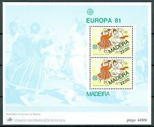 Portugal - Madeira Block 2 Europa 1981: Folklore **