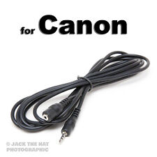 Shutter Release Extension Cable to fit Canon RS-60E3 Remote. 2 metres long lead.