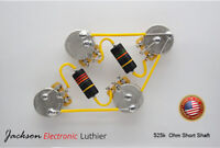 Les Paul Wiring Harness Kit CTS 525k Short Shaft Bumblebee 0.015uF/0.022uF