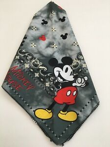 New Disney Land World Mickey Mouse Bandanna Handkerchief Scarf Face Cover Mask