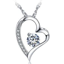 Neckless Chain In Box For Women Girls Free shipping 14k White Gold Plate Base