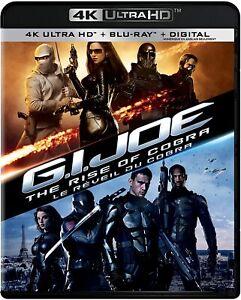 G.I. JOE THE RISE OF COBRA (2009) [4K ULTRA HD] New !!