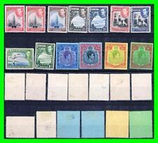 BERMUDA 1938//52 DEFINITIVES = KGVI SC#118//126 MLH CV£658 ( SEE DESCRIPTION)