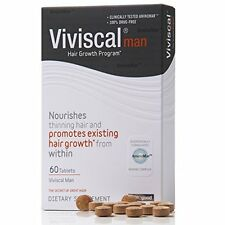 Viviscal Men #1 Hair Dietary Supplement Pills For Thinning/Balding Hair--60 tabs