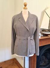 Jaeger Ladies Vintage Wool Belted Jacket , Size 14
