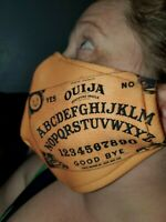 Homemade Fabric Reusable Face Mask washable ouija board