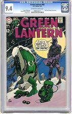 Green Lantern  #68  CGC  9.4  NM  off - white to white pages