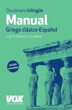 Dic manual Griego-español Vox NE